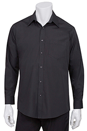 Men's Black Essential Dress Shirt