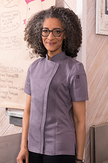 Springfield Womens Chef Coat - side view