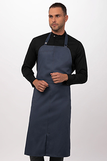 Brio Chef's Bib Apron - side view