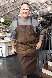 Galveston Chef's Cross-Back Bib Apron