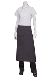Bistro Apron With Contrasting Ties