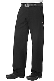 Professional Series Chef Pants: Black